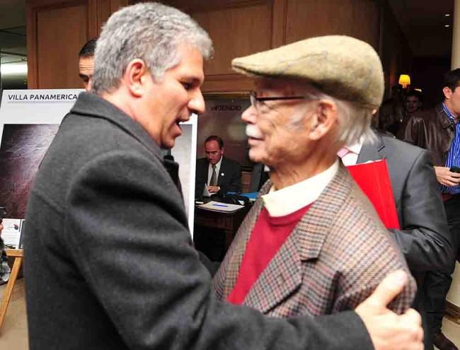 Gobernador de San Luis Claudio Poggi y Don Manuel García Ferré