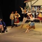 Inés Torres Cappiello, Leandro Ferreira Morais y estudio Balletto en nuestra producción de Copellia 2011