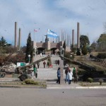 Entrada al complejo del Monumento al Pueblo Puntano de la Independencia