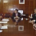 La reunión se llevó a cabo en el despacho del Ministro de Agricultura de la Nación