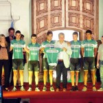 Gobernador de San Luis y equipo de España Caja Rural