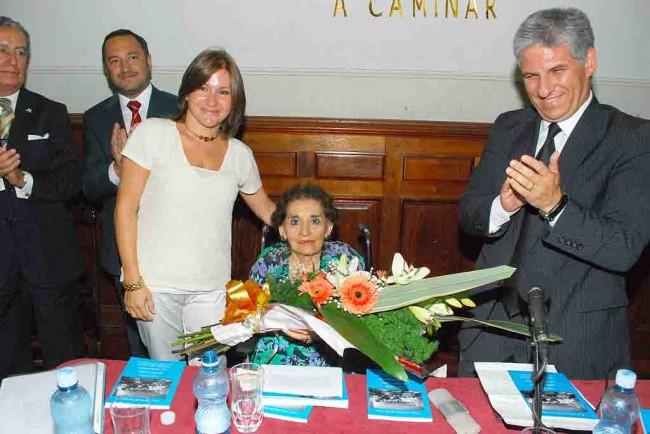 Gobernador de San Luis, Claudio Poggi, Sandra Correa, su esposa y Memé