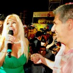 Gobernador de San Luis, Claudio Poggy y Susana Giménez