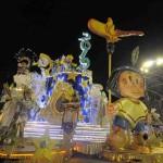 Carroza alegórica: Sueños Panamericanos 2019