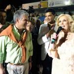 Gobernador de San Luis, Claudio Poggi y Mirtha Legrand