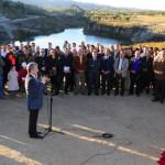 Inauguración del Dique La Estrechura