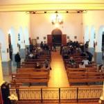 Misa en la Iglesia del Cristo de la Quebrada