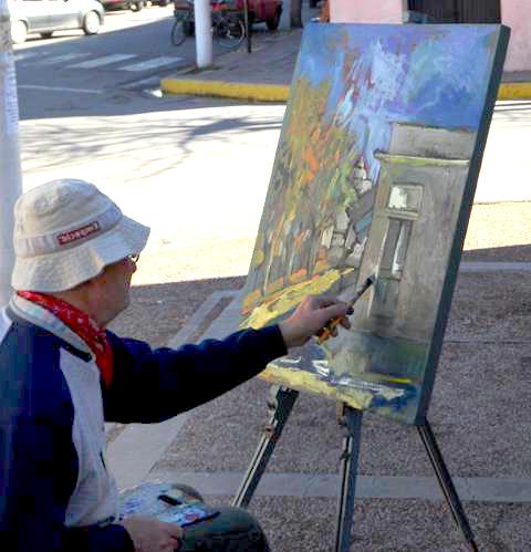 Artistas en Merlo