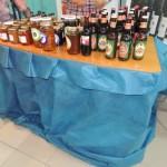 Productos regionales: dulces, conservas y bebidas