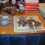 Nueces-chocolate y productos de harina de algarroba