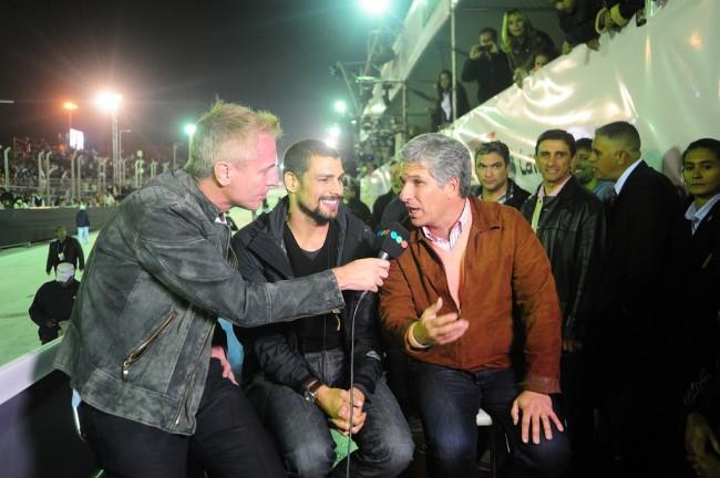 Marley entrevista al Gobernador Claudio Poggi y a Jorgito