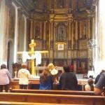 Adoración de la Cruz en la Catedral