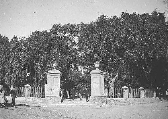 Plaza Pringles año 1910