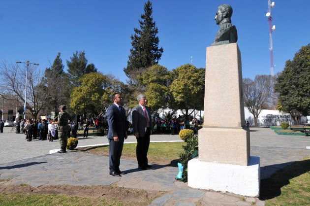 164° aniversario del fallecimiento del General José de San Martín