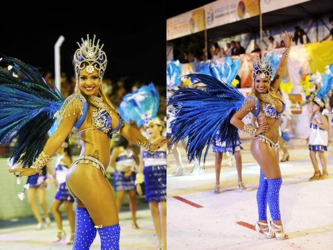 Camila Partenza - Carnaval de Río en San Luis 2015