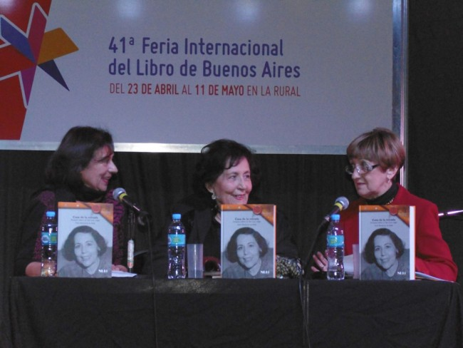 Adriana Ortiz Suárez, Perla Montiveros de Mollo, Claudia Alicia Forgione