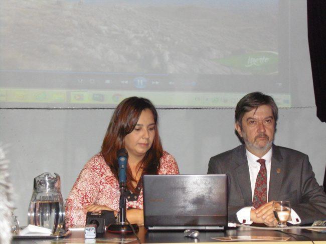 Secretaria de Turismo, Lucía Miranda e Intendente Miguel Ángel Flores